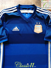 2013/14 Argentina Away Football Shirt (S)