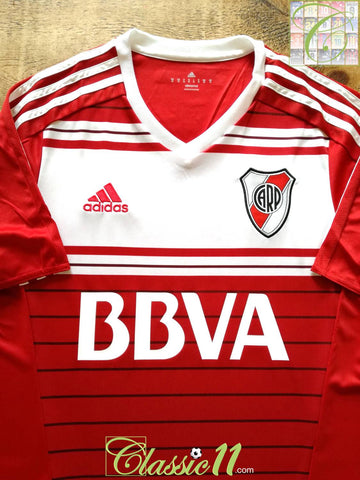 2016/17 River Plate Away Football Shirt (M) *BNWT*