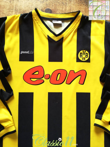2000/01 Borussia Dortmund Home Football Shirt. (L)