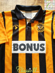 1990/91 Hull City Home Football Shirt (B)