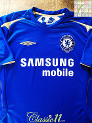 2005/06 Chelsea Home Football Shirt (W) (Size 16)