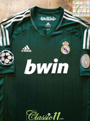 2012/13 Real Madrid 3rd Champions League Football Shirt (XL)