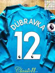 2017/18 Newcastle United Goalkeeper Premier League Football Shirt Dúbravka #12 (S)