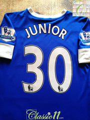 2012/13 Everton Home Premier League Football Shirt Junior #30 (M)
