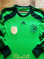 2014/15 Germany Goalkeeper World Champions Football Shirt (M)