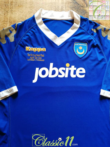 2010 Portsmouth FA Cup Semi-Final Football Shirt (3XL)
