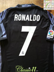 2016/17 Real Madrid 3rd La Liga Adizero Football Shirt Ronaldo #7 (M)