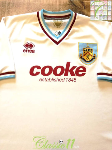 2009/10 Burnley Away Football Shirt (XL)
