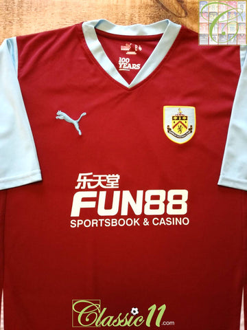 2010/11 Burnley Home Football Shirt (XXL)