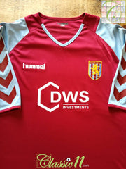 2004/05 Aston Villa Home Football Shirt (L)