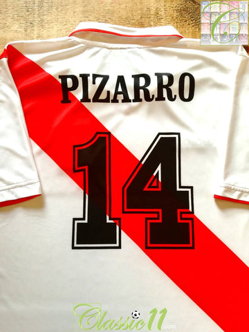 2006/07 Peru Home Football Shirt Pizarro #14 (XL)