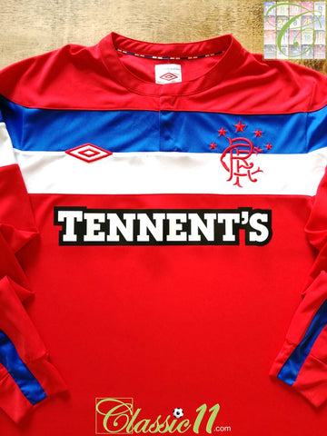 2011/12 Rangers Away Football Shirt. (M)
