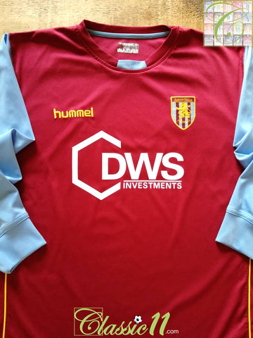 2005/06 Aston Villa Home Football Shirt. (M)