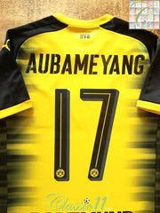 2016/17 Dortmund European Football Shirt Aubameyang #17 (S)