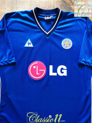 2002/03 Leicester City Home Football Shirt (XXL)