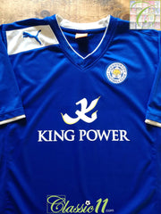 2012/13 Leicester City Home Football Shirt (XL)