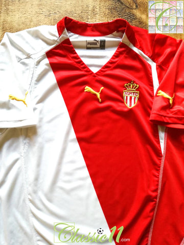 2004/05 Monaco Home Football Shirt (L)