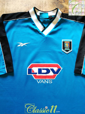 1998/99 Aston Villa Away Football Shirt (XL)