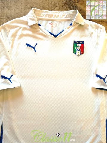 2010/11 Italy Away Football Shirt (XL)