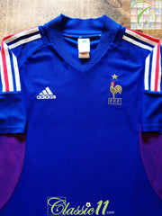 2002/03 France Home Football Shirt (XL)