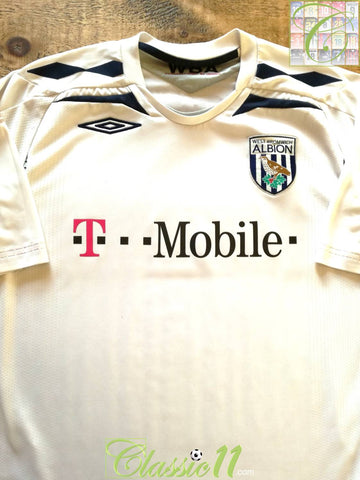 2007/08 West Bromwich Albion Away Football Shirt (L)