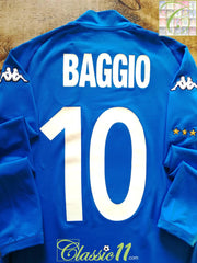 2002/03 Italy Home Football Shirt. Baggio #10 (L)