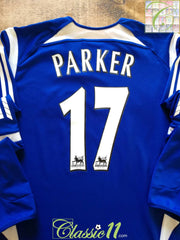 2005/06 Newcastle United 3rd Premier League Football Shirt. Parker #17 (XL)