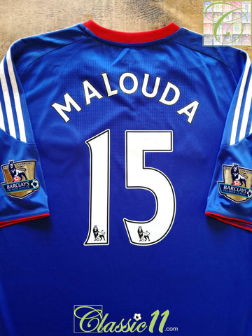 2010/11 Chelsea Home Premier League Football Shirt Malouda #15 (XXL)