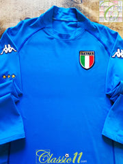 2002/03 Italy Home Football Shirt. (XL)
