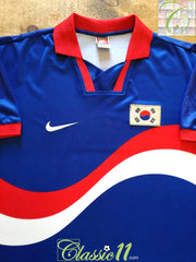 1996/97 South Korea Away Football Shirt (L)