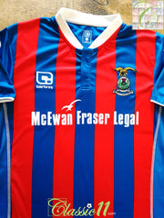 2016/17 Inverness Caledonian Thistle Home Football Shirt (W) (Size 16) *BNWT*