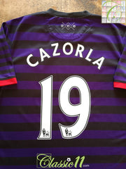 2012/13 Arsenal Away Premier League Football Shirt S. Cazorla #19 (M)