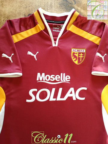 2000/01 FC Metz Home Football Shirt (XL)