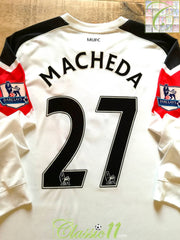 2010/11 Man Utd Away Premier League Football Shirt. Macheda #27 (XXL)