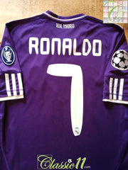 2010/11 Real Madrid 3rd Champions League Football Shirt Ronaldo #7 (S)