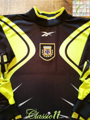 1999/00 Argentina Goalkeeper Football Shirt (L)