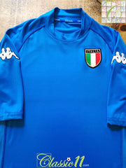 2002/03 Italy Home Football Shirt (XL)