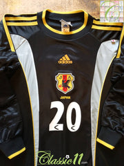 2000/01 Japan Goalkeeper Football Shirt #20 (M)