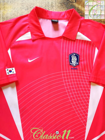 2002/03 South Korea Home Basic Football Shirt (M)