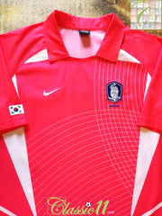 2002/03 South Korea Home Basic Football Shirt (L)