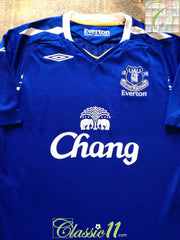 2007/08 Everton Home Football Shirt (L)