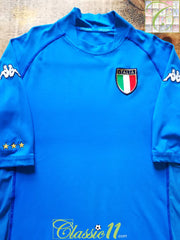 2002/03 Italy Home Football Shirt (L)