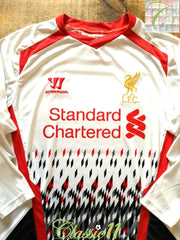 2013/14 Liverpool Away Football Shirt. (M)