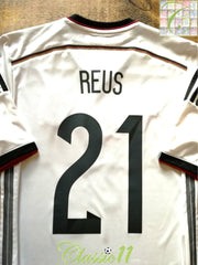 2014/15 Germany Home Football Shirt Reus #21 (S)