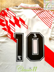 1992/93 Peru Home Football Shirt #10 (L)