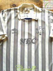 1988/89 Everton Away Football Shirt (B)