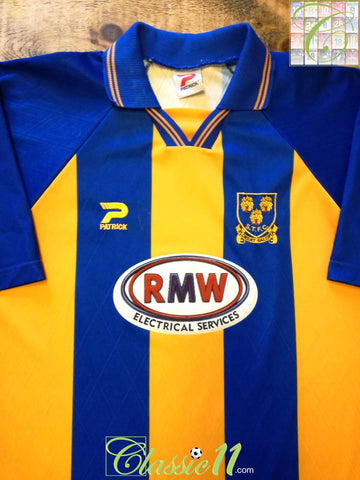 1999/00 Shrewsbury Town Home Football Shirt (L)