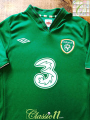 2012/13 Republic of Ireland Home Football Shirt (M) (L)
