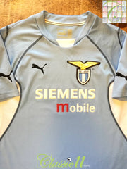 2001/02 Lazio Home Football Shirt (S)