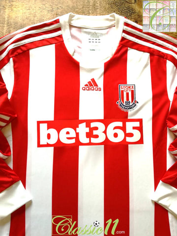 2012/13 Stoke City Home Formotion Football Shirt. (L)